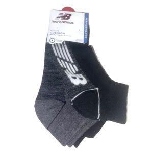 New Balance 6 Pair Men's Cushion Quarter Socks